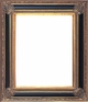 Picture Frames 48 x 48 - Black & Gold Picture Frame - Frame Style #400 - 48x48