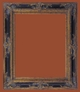 Picture Frames 48 x 60 - Ornate Black & Gold Picture Frame - Frame Style #398 - 48x60