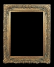 Art - Picture Frames - Oil Paintings & Watercolors - Frame Style #610 - 48x72 - Antique Gold - Ornate Frames