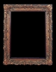 Art - Picture Frames - Oil Paintings & Watercolors - Frame Style #635 - 48x72 - Dark Gold - Ornate Frames
