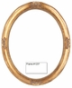 Picture Frames - Oil Paintings & Watercolors - Frame Style #1237 - 5X7 - Antique Gold – Oval