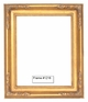 Picture Frames - Oil Paintings & Watercolors - Frame Style #1216 - 8X10 - Traditional Gold