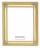 Picture Frames - Oil Paintings & Watercolors - Frame Style #1220 - 8X10 - Traditional Gold