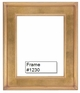 Picture Frames - Oil Paintings & Watercolors - Frame Style #1230 - 8X10 - Traditional Gold
