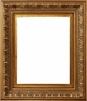 "8X10 Picture Frames - Gold Frames - Frame Style #327 - 8""X10"""