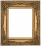 "Picture Frames 8"" x 10"" - Ornate Gold Picture Frame - Frame Style #339 - 8x10"