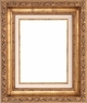 "8 X 10 Picture Frames - Gold Picture Frame - Frame Style #347 - 8"" X 10"""