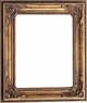 "8X10 Picture Frames - Gold Frame - Frame Style #351 - 8"" X 10"""