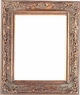 "8 X 10 Picture Frames - Gold Frame - Frame Style #391 - 8"" X 10"""