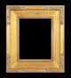 Art - Picture Frames - Oil Paintings & Watercolors - Frame Style #645 - 8x10 - Light Gold - Plein Air Frames