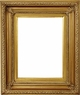 Picture Frames 8x16 - Gold Picture Frames - Frame Style #317 - 8 x 16