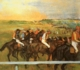 Art - Oil Paintings - Masterpiece #3005 - Edgar Degas - Racehorses - Gallery Quality