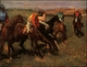 Art - Oil Paintings - Masterpiece #3006 - Edgar Degas - Before the Race - Gallery Quality