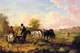 Art - Oil Paintings - Masterpiece #3019 - Julius Caesar Ibbetson - Going to Market - Museum Quality
