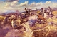 Art - Oil Paintings - Masterpiece #3025 - Charles M Russell - Tight Dalley and a Loose Latigo - Gallery Quality