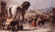 Art - Oil Paintings - Masterpiece #3035 - TIEPOLO, Giovanni Domenico - The Procession of the Trojan Horse in Troy e - Gallery Quality