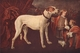 Art - Oil Paintings - Masterpiece #3038 - FYT, Jan - Big Dog, Dwarf and Boy df - Gallery Quality