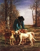 Art - Oil Paintings - Masterpiece #3054 - constant troyon - gamekeeper - Museum Quality