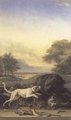 Art - Oil Paintings - Masterpiece #3059 - WEENIX, Jan - Boar Hunt (mk14) - Gallery Quality