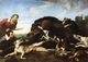 Art - Oil Paintings - Masterpiece #3060 - Frans Snyders - Wild Boar Hunt - Museum Quality