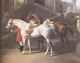 Art - Oil Paintings - Masterpiece #3067 - John F Herring - Tajar and Hammon (mk25) - Museum Quality