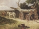 Art - Oil Paintings - Masterpiece #3070 - James holland,r.w.s - Countryfolk logging (mk37) - Museum Quality