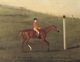 Art - Oil Paintings - Masterpiece #3108 - Francis Sartorius - Eclipse' with Jockey up walking the Course for the King's Plate 1776 - Gallery Quality