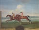 Art - Oil Paintings - Masterpiece #3118 - Thomas Butler - Driver and Aaron Running The First Heat At Maidenhead aaron and Driver Running the second Heat at Maidenhead - Gallery Quality