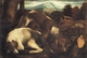Art - Oil Paintings - Masterpiece #3135 - Jacopo Bassano - Two Dogs - Gallery Quality