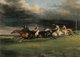 Art - Oil Paintings - Masterpiece #3137 - Theodore Gericault - Epsom Derby - Museum Quality