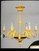 Jeanne Reed's - Chandelier (black/gold)
