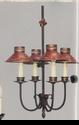 Jeanne Reed's - Chandelier (tole, red)