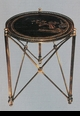 Jeanne Reed's - Brass Table - Chinoiserie