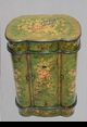 Jeanne Reed's - Kidney Shaped Cabinet - green