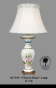 "Jeanne Reed's - ""Flora & Fauna"" Lamp"