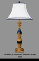 Jeanne Reed's - Candlestick Lamp - black/mustard