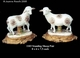 Jeanne Reed's - Standing Sheep Pair