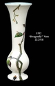 "Jeanne Reed's - ""Dragonfly"" Vase"