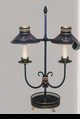 Jeanne Reed's - 2 Arm Lamp - black