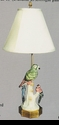 Jeanne Reed's - Lamp - Parrot w/baby**