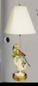 Jeanne Reed's - Lamp - Multi-colored Bird**