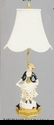 Jeanne Reed's - Lamp - Girl w/chicken