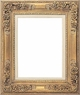 Wall Mirrors - Mirror Style #304 - 24X36 - Washed Gold