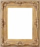 Wall Mirrors - Mirror Style #307 - 24X36 - Washed Gold