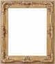 Wall Mirrors - Mirror Style #308 - 24X36 - Washed Gold