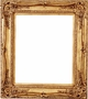 Wall Mirrors - Mirror Style #346 - 24X36 - Broken Gold