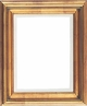 Wall Mirrors - Mirror Style #349 - 14X18 - Broken Gold