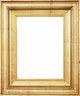 Wall Mirrors - Mirror Style #359 - 8X10 - Broken Gold
