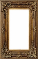 Wall Mirrors - Mirror Style #367 - 8x16 - Dark Gold