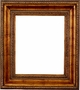 Wall Mirrors - Mirror Style #370 - 40x40 - Dark Gold
